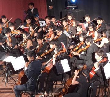 Se vivió el recital  de dos orquestas