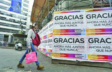La segunda vuelta en la elección presidencial argentina será peleada