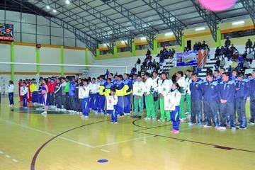 Seis equipos van en busca del título del nacional de voleibol