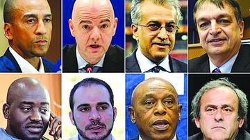 Los ocho aspirantes a la FIFA esperan el fallo del Comité Electoral
