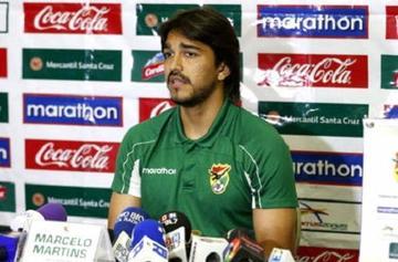 Baldivieso dice que Martins no tiene ganas de volver a la Selección