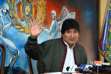 Evo Morales saluda anticipadamente a Potosí por su efeméride