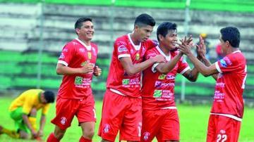 Guabirá suma tres puntos goleando a San Borja