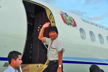 Evo Morales emprende viaje por cuatro países de Europa