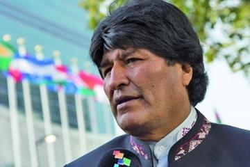 Evo Morales llega a Berlín en su gira por Europa en busca de inversiones