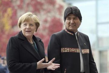 Mar: Merkel pide que Bolivia y Chile retomen conversaciones