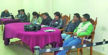El TSE cita a audiencia a vocales de Chuquisaca