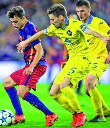Barcelona vence a Bate Borisov