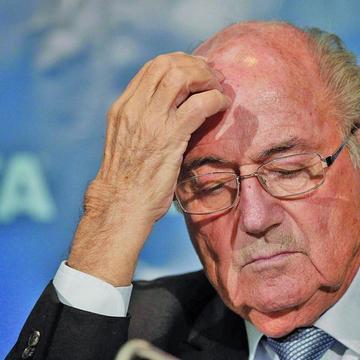 El estrés enferma Blatter
