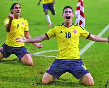 James regresa pero Falcao se ausenta para Colombia
