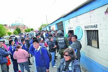 """Dispondrán 28.500 entradas en el """"Hernando Siles"""""""