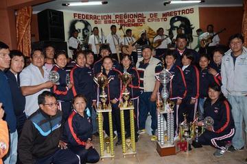 Potosí es campeón del torneo de maestros rurales