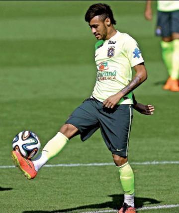 Neymar jugará contra Argentina