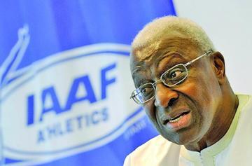 El COI suspende a Lamine Diack