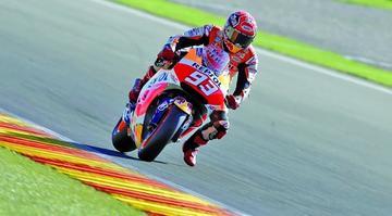 Márquez lidera jornada de entrenamientos de motos