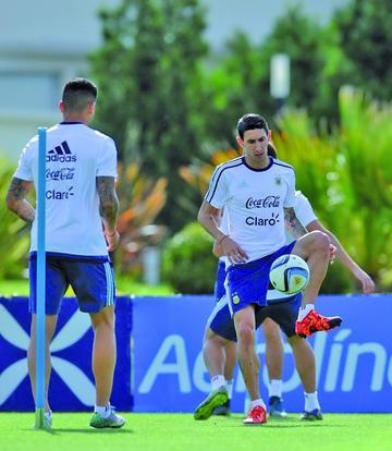 Argentina se alista para Brasil