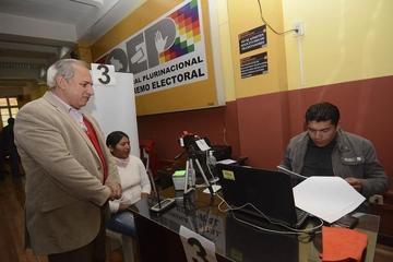 Ex vocales: El TSE presentará queja al TCP en contra del Tribunal de Justicia de Chuquisaca