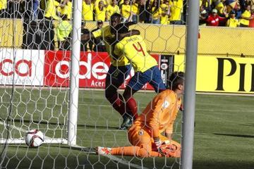 Ecuador cumple en su casa con un triunfo sobre Uruguay