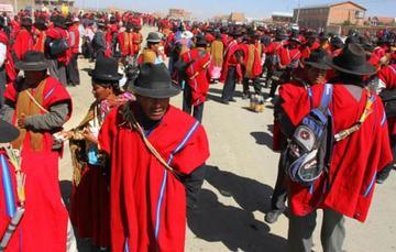 Los Ponchos Rojos niegan dirigir Ecobol