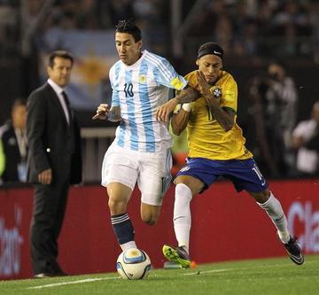 Argentina y Brasil empatan 1-1