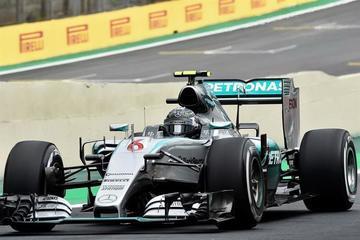 Rosberg es el más rápido en el GP de Brasil
