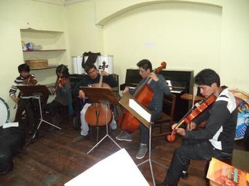 Alistan recital de Orquesta Potosí