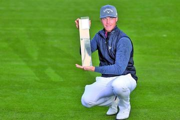 Broberg vence en el Masters de Shanghai de Golf