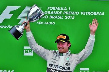 Rosberg gana el Gran Premio de Brasil