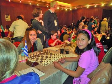 Ana Paula Condori apunta al Sudamericano de ajedrez