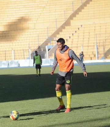 Real espera la recuperación de Álvarez para el domingo