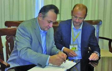 Suscriben un acuerdo para la inversión en áreas rurales