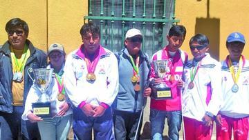 Novidentes consiguen 16 oros en Juegos nacionales