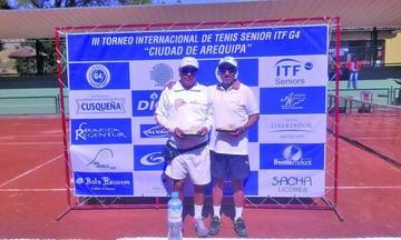 Javier Miranda se corona campeón de tenis en Perú