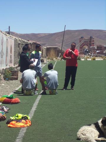 Melgar, León, Arellano y Molina cumplen un trabajo diferenciado