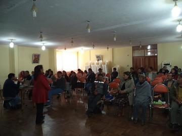 Socializan el reglamento para las juntas distritales de padres de familia