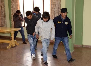 Desbaratan dos bandas de presuntos cogoteros en El Alto
