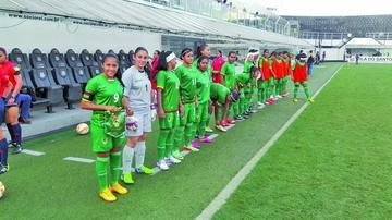Bolivia y Uruguay empatan en torneo femenino