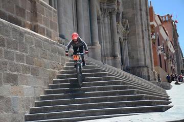 Potosinos logran podio en la prueba nacional de descenso de ciclismo
