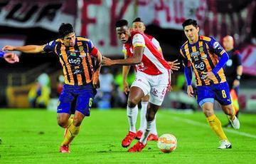 Independiente Santa Fe es el primer finalista de la Sudamericana