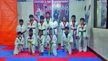 Potosí logra 22 medallas en el torneo de Taekwondo
