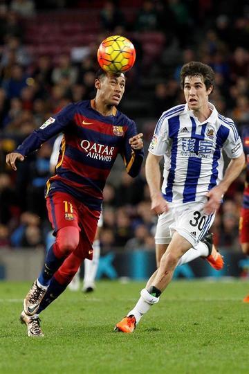 Barcelona golea a Real Sociedad