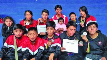 Potosinos logran 12 medallas en el nacional de taekwondo