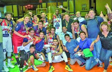San Simón logra su primer título en el campeonato de la Libobásquet