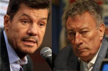Tinelli y Segura van por la presidencia de la AFA