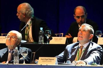 FIFA: Napout, presidente de la Conmebol, es detenido en Suiza