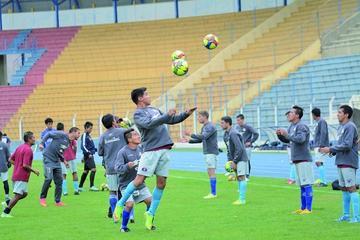 Nacional buscará los nueve puntos en sus tres partidos de local