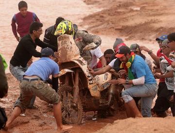 Ultiman los detalles para el paso del Dakar