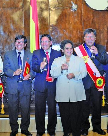 Radio San Antonio recibe condecoración municipal