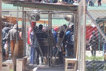 Denuncian que gasificaron a los presos en  Cantumarca