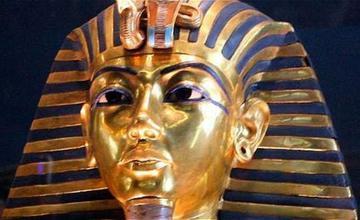 Máscara del faraón  Tutankamón vuelve